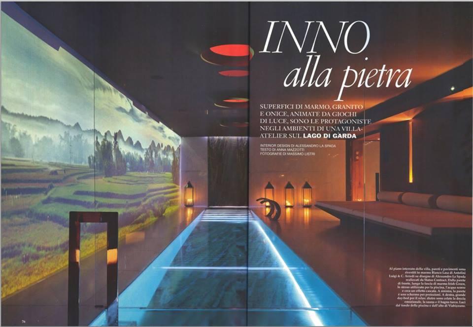 Villa-atelier sul Lago di Garda